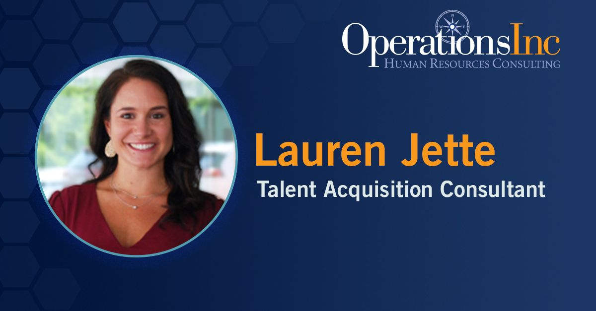 Lauren jette promoted to talent acquisition consultant at