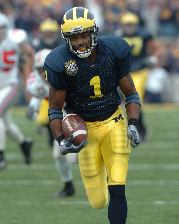 2005 Nfl Draft Braylon Edwards Wr Round 1 Pick 3 Michigan