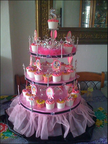 I Love This Stand For The Cupcakes Princess Baby Shower