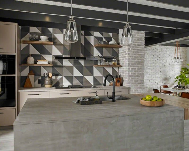 The right backsplash tile can make or break the room\'s décor — and ...