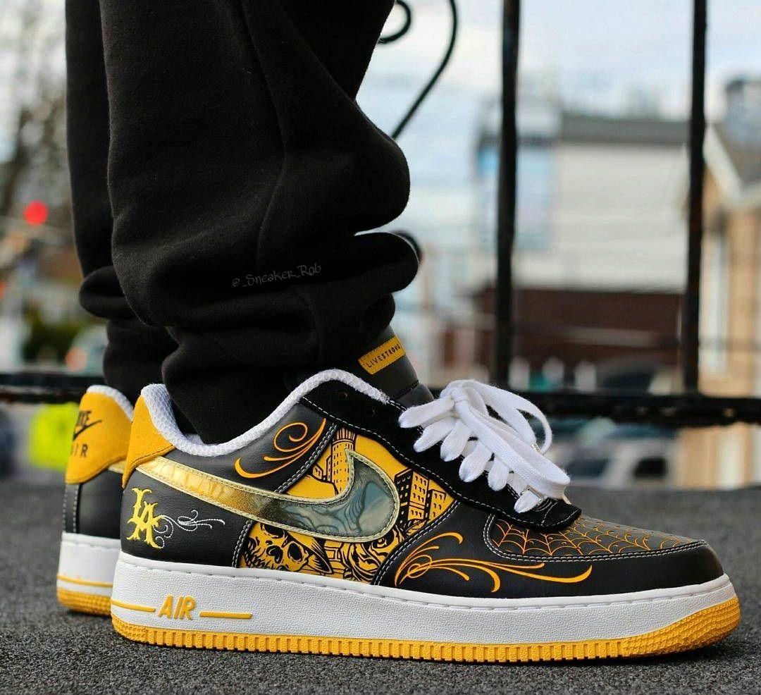 separation shoes c6d2b a6d9a Mr. Cartoon x LIVESTRONG x Nike Air Force 1 Low