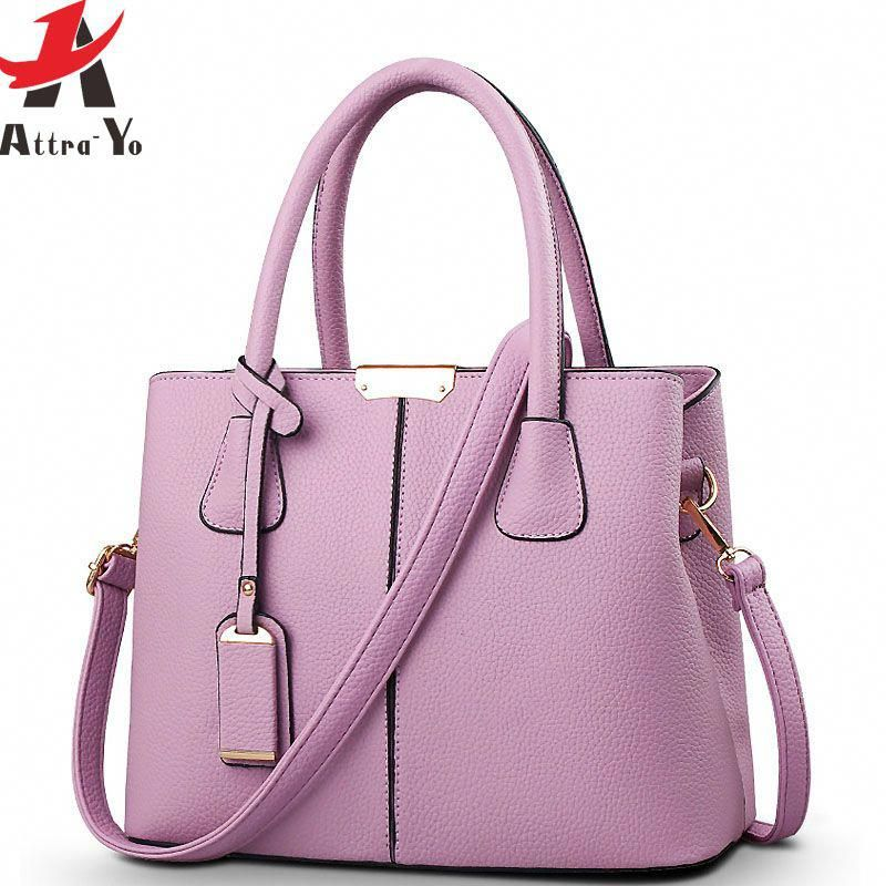 85413c755b18  39.38 - Cool ATTRA-YO 2016 Brand Women leather handbag Ladies messenger  bag crossbody shoulder