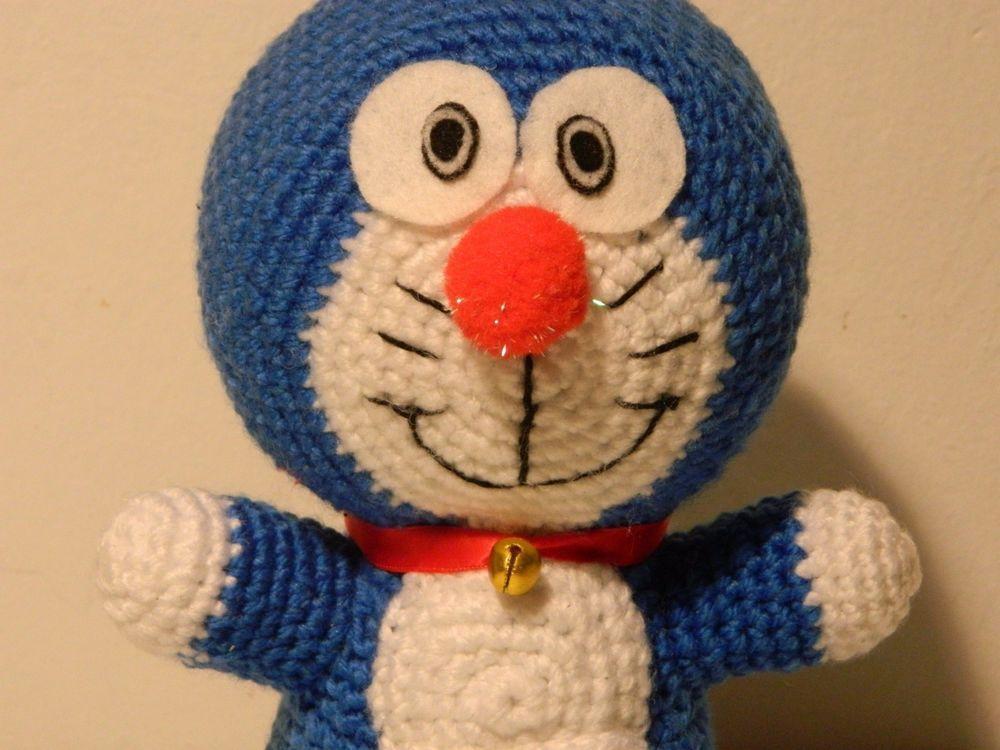 Amigurumi Doraemon Free Pattern : Doraemon 24 cm de altura mis trabajos pinterest