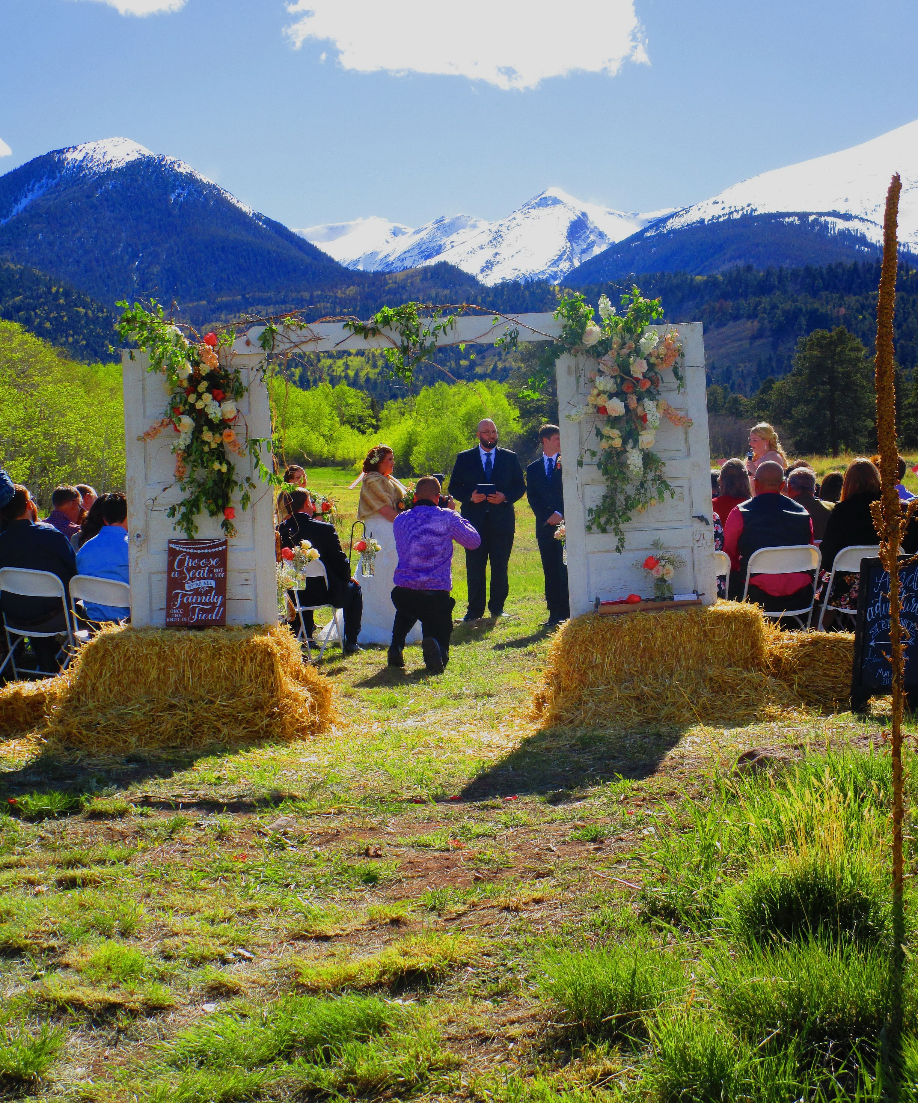 Colorado Mountain Wedding Venue the Historic Pines Ranch