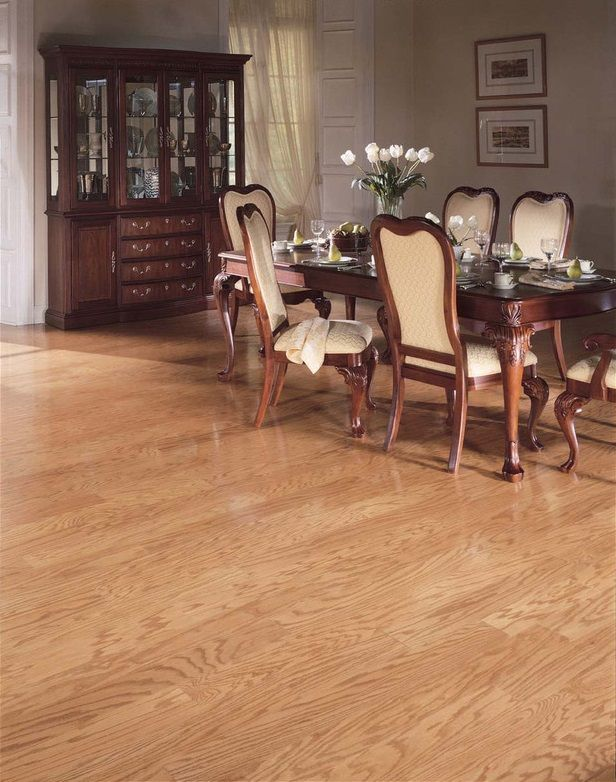 Columbia Livingston Oak 5 Wide Wheat 12 Engineered Hardwood
