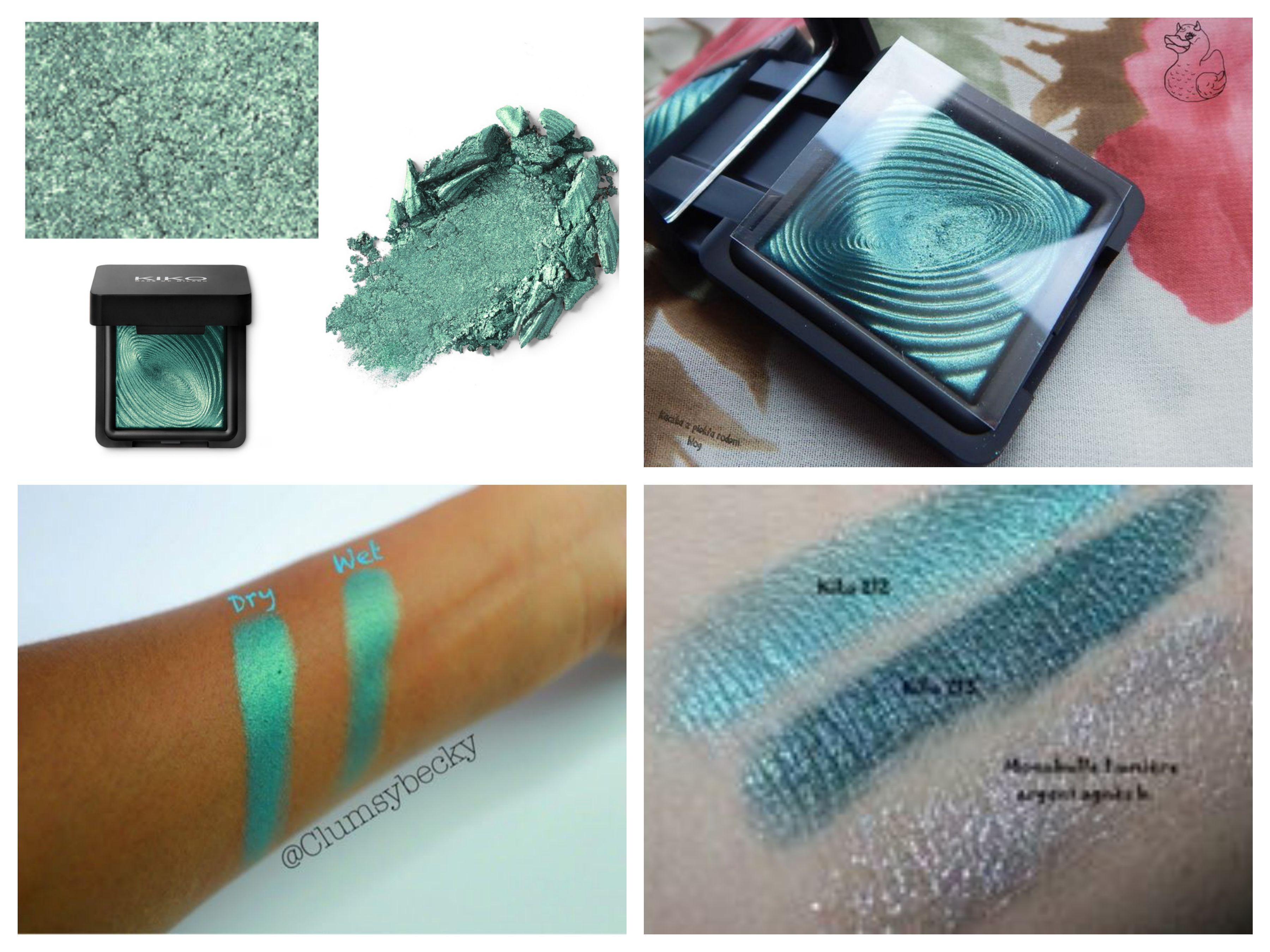 Kico mobili ~ Kiko water eyeshadow 212 smeraldo make up eyemake up