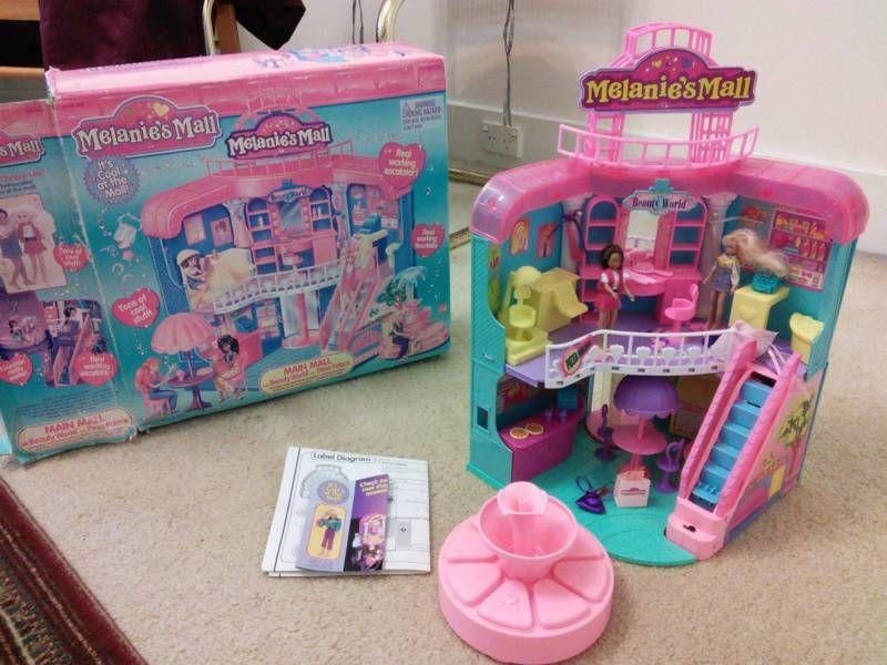 Melanie S Mall With Functional Escalator Old Toys 90s Toys Retro Toys