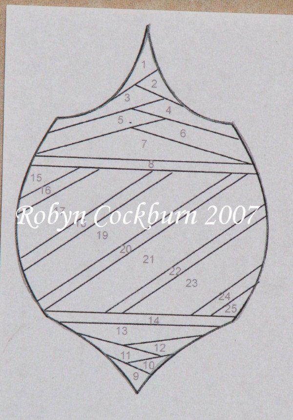 Bombka Card Making Cards Iris Folding