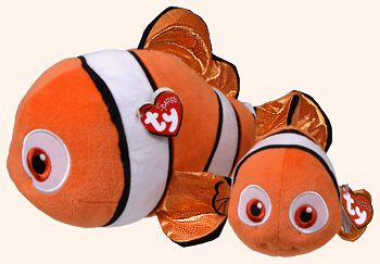 0b9d0d7b959 Beanie Baby and Buddy versions of Nemo (Disney Sparkle ...