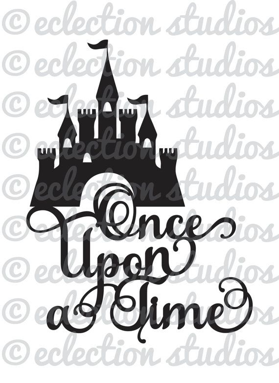 princess castle svg  once upon a time  magical birthday