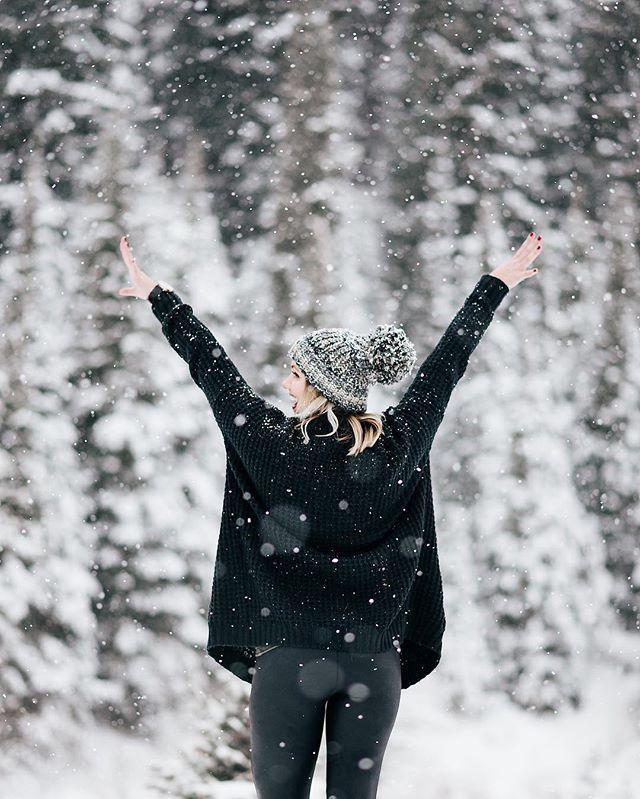 Echtes Winterwunderland