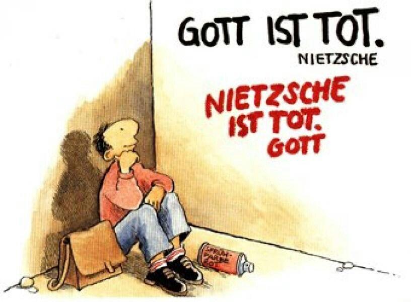 Gott Ist Tot Nietzsche Nietzsche Ist Tot Gott C Gott Net Illustrator Christian Habicht Glaube Zitate Christliche Weisheiten Christliche Spruche