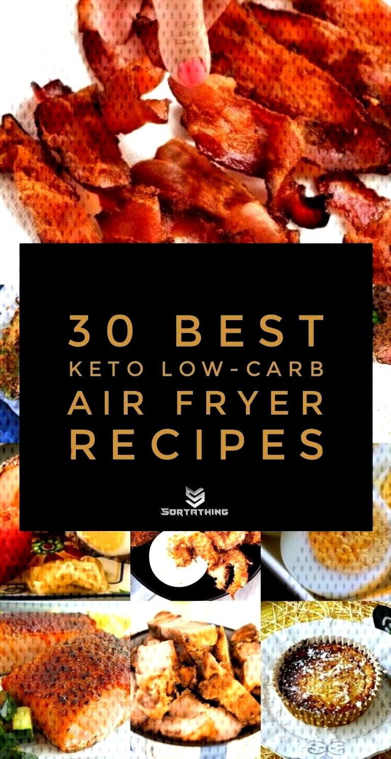 30 Best Low-Carb Keto Air Fryer Recipes - Sortathing