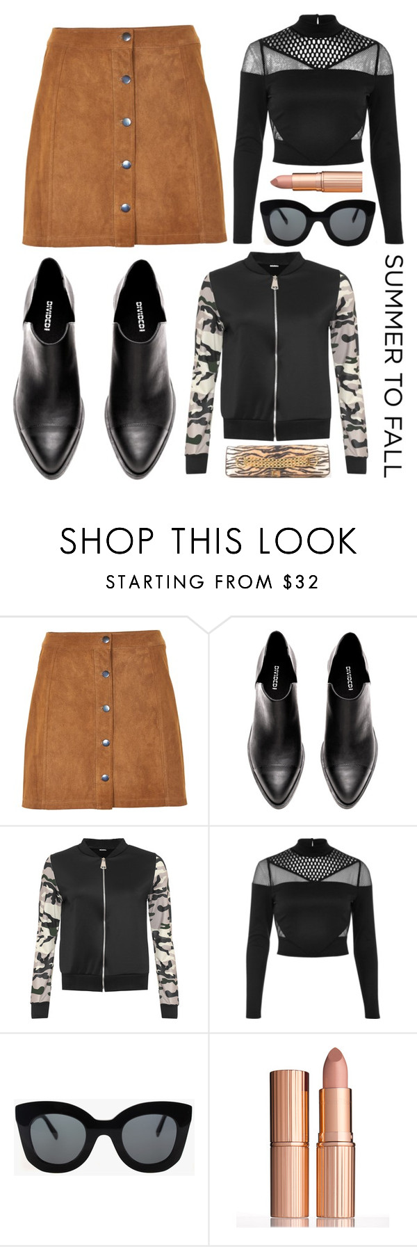 """""""Hydee"""" by goingdigi on Polyvore featuring Soaked in Luxury, WearAll, River Island, CÉLINE, Charlotte Tilbury and ESCADA"""