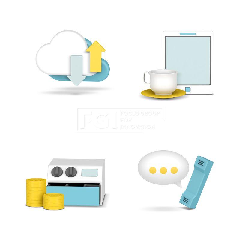 FUS168, 프리진, 아이콘, 3D, 그래픽, 3D그래픽, 입체, 입체적인, 입체효과, 비주얼, icon, 캐릭터, 에프지아이, 아이콘, 비즈니스, 금융, 세트, 오브젝트, 웹활용소스, 웹, 소스, 활용, 구름, 클라우드, 공유, 커피잔, 타블렛, 동전, 돈, 계산대, 말풍선, 전화기, 수화기, 정보, 송신, 자료, 커피, 컵, 컵받침, 카운터, 계산, 통화, 문의, 3D 아이콘, icon #유토이미지 #프리진 #utoimage #freegine 20112760