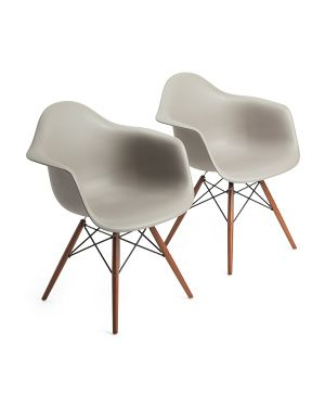 Best Set Of 2 Flair Chairs Accent Furniture Furniture Chair 640 x 480