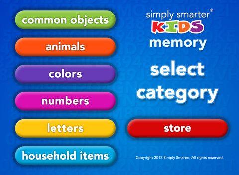 Memory4you On The App Store On Itunes Smart Kids Kids App Kids Memories