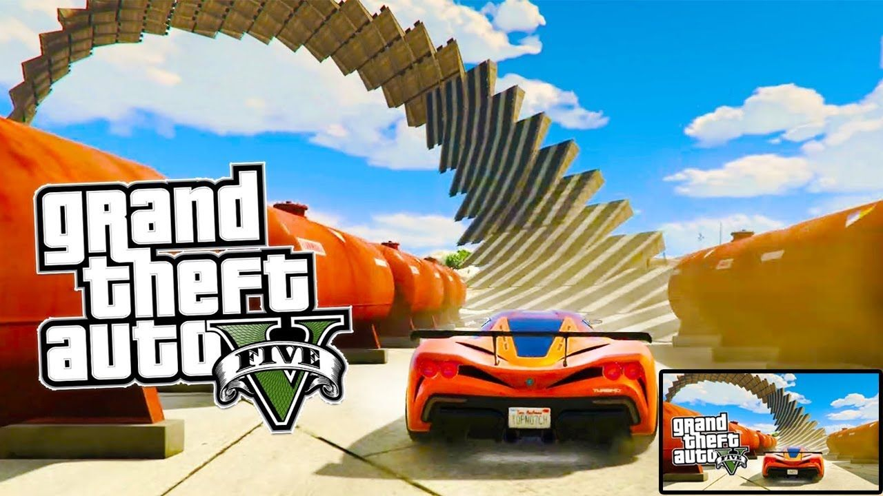 Gta 5 Top 5 Impossible Wallrides Full Hd 2017 Gta Video Game