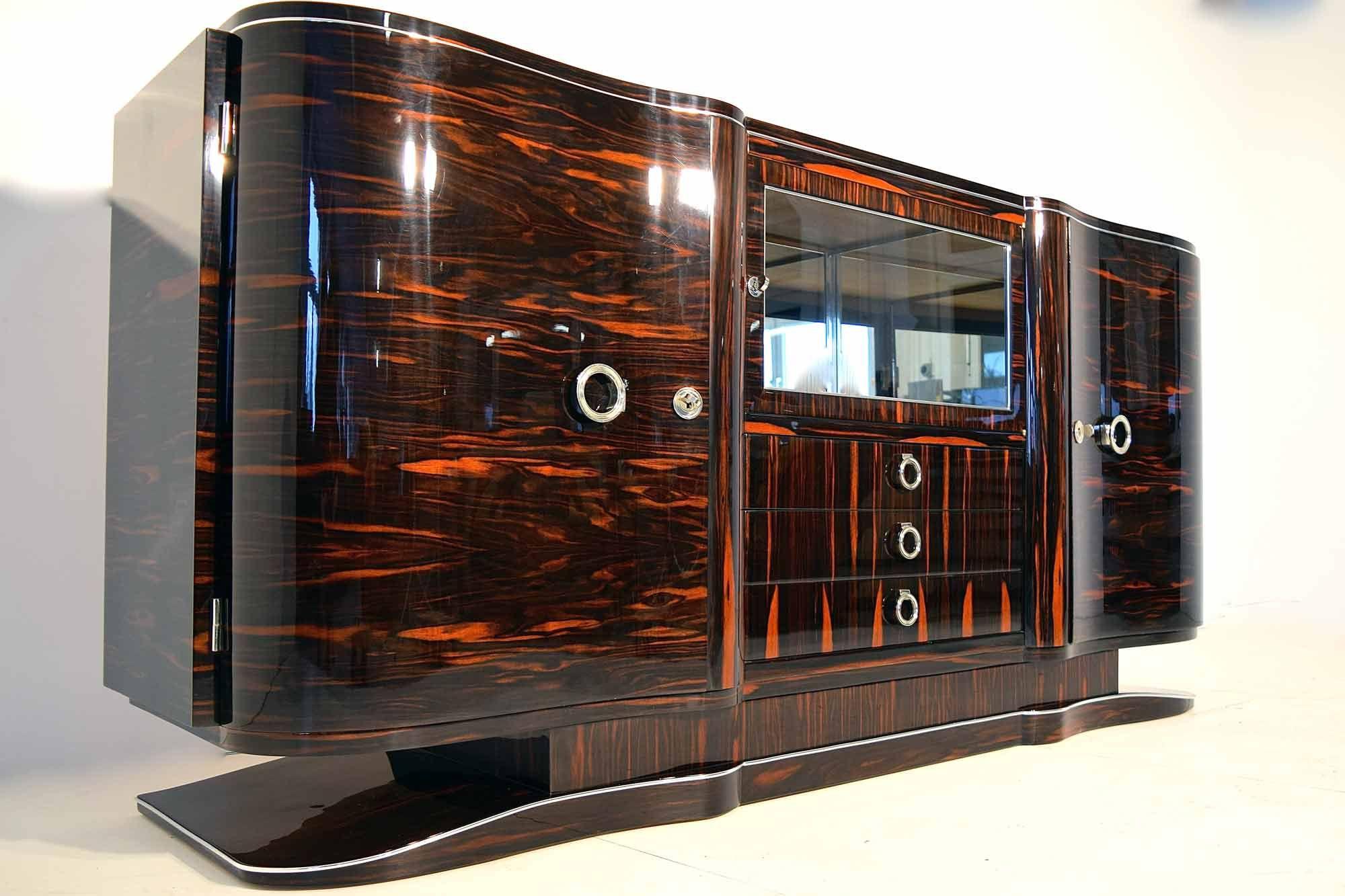 Art Deco Sideboard Makassar B235xh98xt55 Artdeco Depot Art Deco Sideboard Art Deco Furniture Design Art Deco Buildings