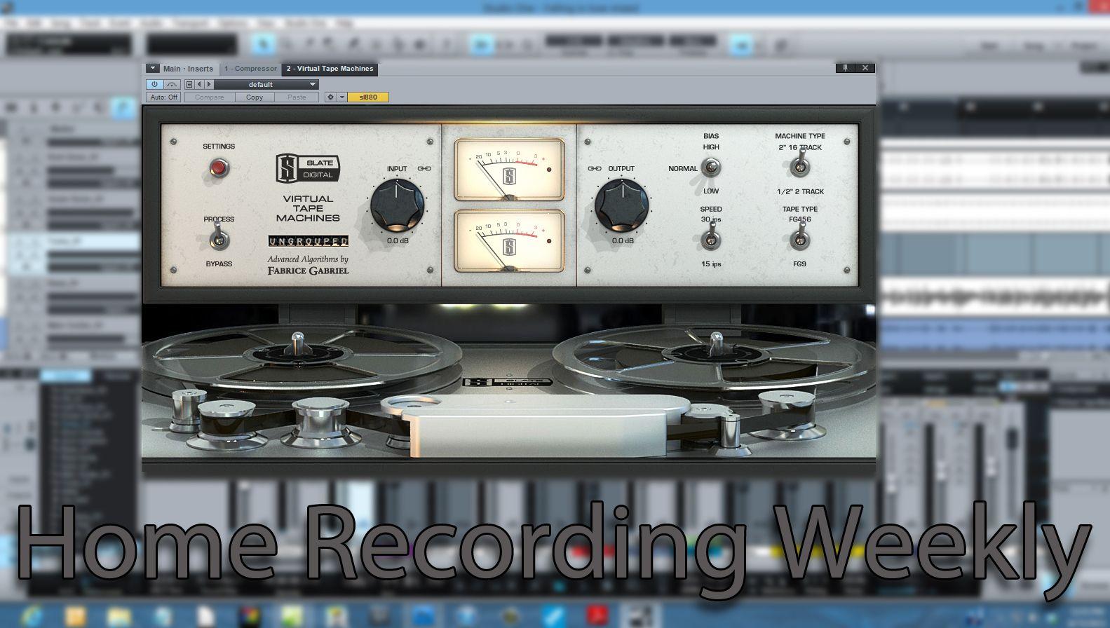 Slate Digital VTM, or Virtual Tape Machine   Plugins I love   Mini