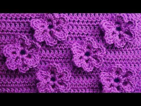 Crochet Pattern With Flowers 83
