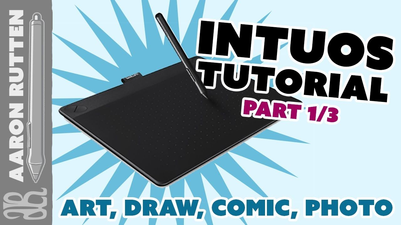 How to Install Wacom Intuos Drawing Tablet [Full Tutorial