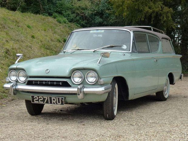 Coachbuilt In Nairobi Super Rare 1961 Ford Consul Estate Old