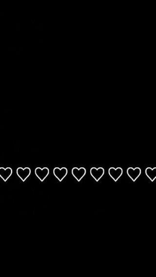 Black White Hearts Heart Iphone Wallpaper Iphone Wallpaper Black And White Heart