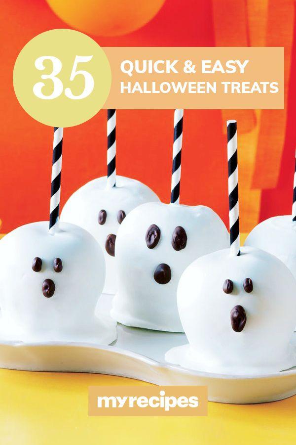 35 Quick and Easy Halloween Treats | Halloween treats ...