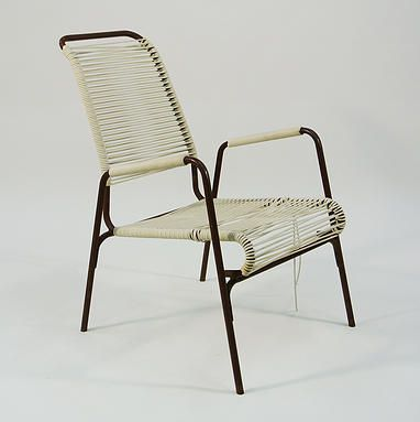 Aimes Air Vintage Outdoor Patio Chair With Cording Or