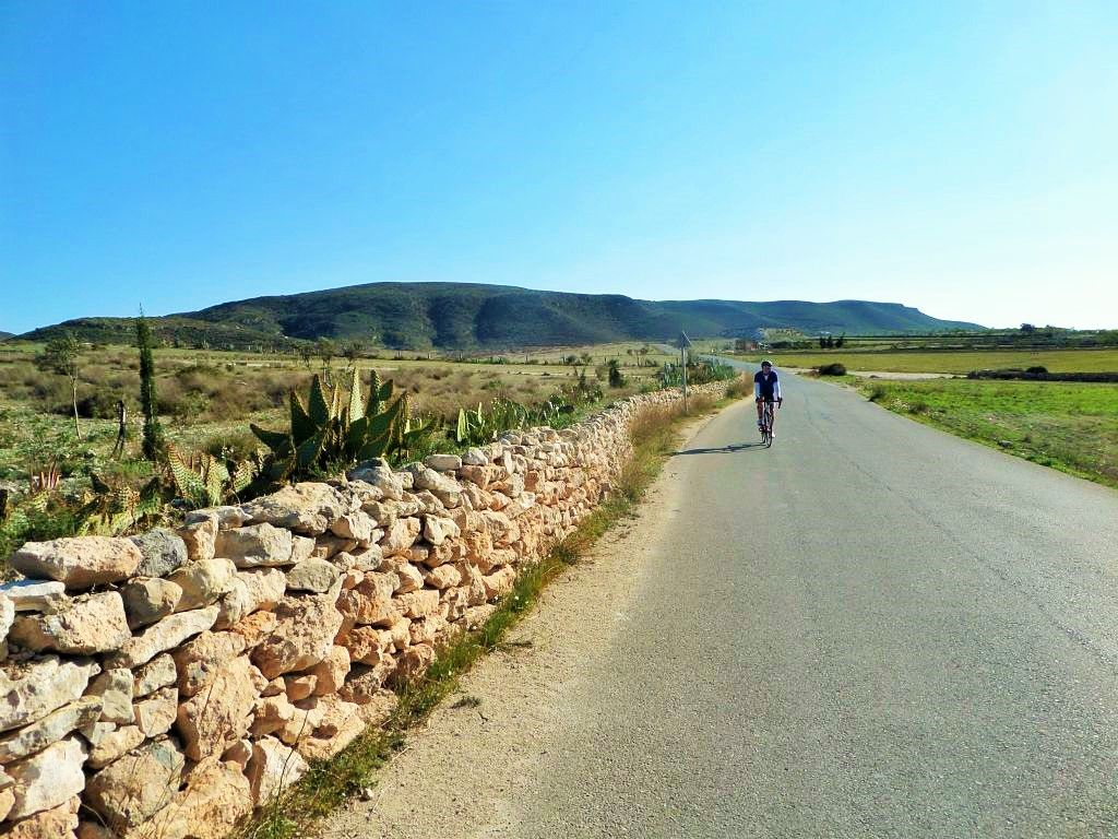 An easy going tour, through the region known as the 'Orchard of Europe'. http://www.cyclefiesta.com/cycling-holidays/murcia-almeria.htm