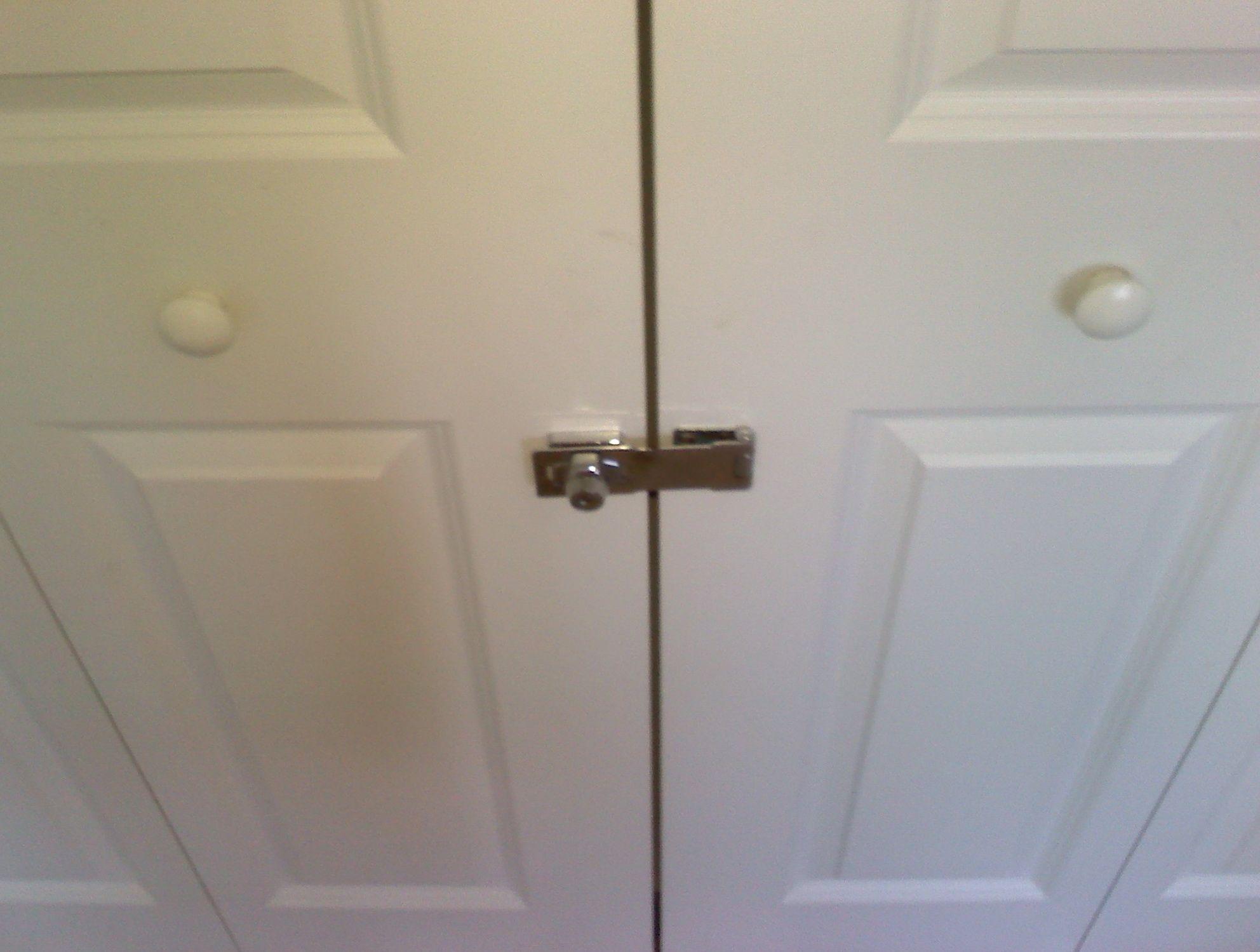 Closet Door Lock With Key Httpsourceabl Pinterest
