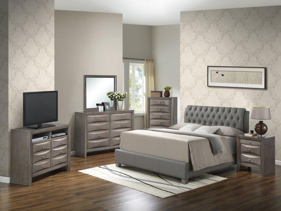 Medford Platform Configurable Bedroom Set Bedroom Set Luxury Bedroom Furniture Bedroom Sets