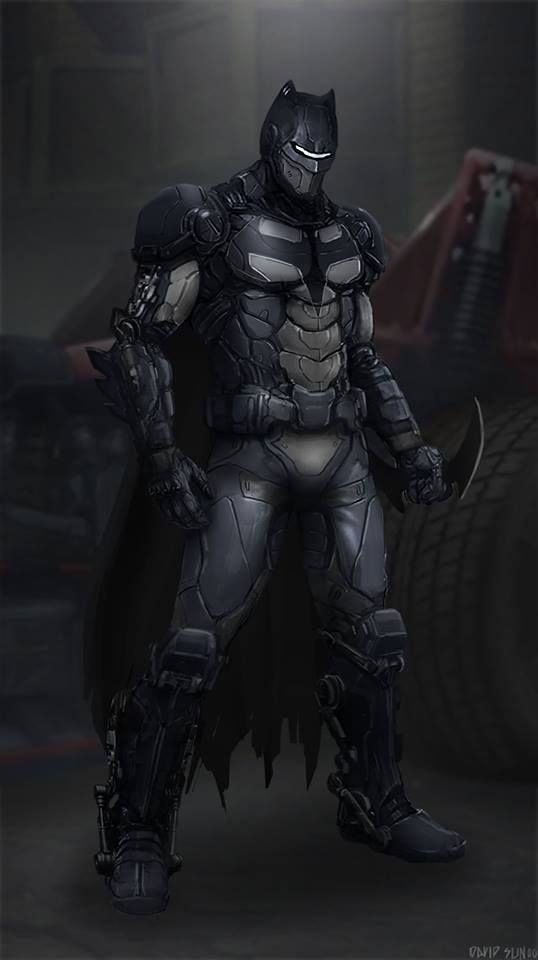 #Batman #Fan #Art. (Batman 2 Redesign) By: David Sunoo. (THE * 5 * STÅR * ÅWARD * OF: * AW YEAH, IT'S MAJOR ÅWESOMENESS!!!™) ÅÅÅ+