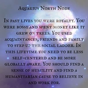 Aquarius north node