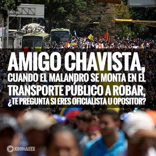 LA PURA VERDAD.... REACCIONA AMIGO CHAVISTA