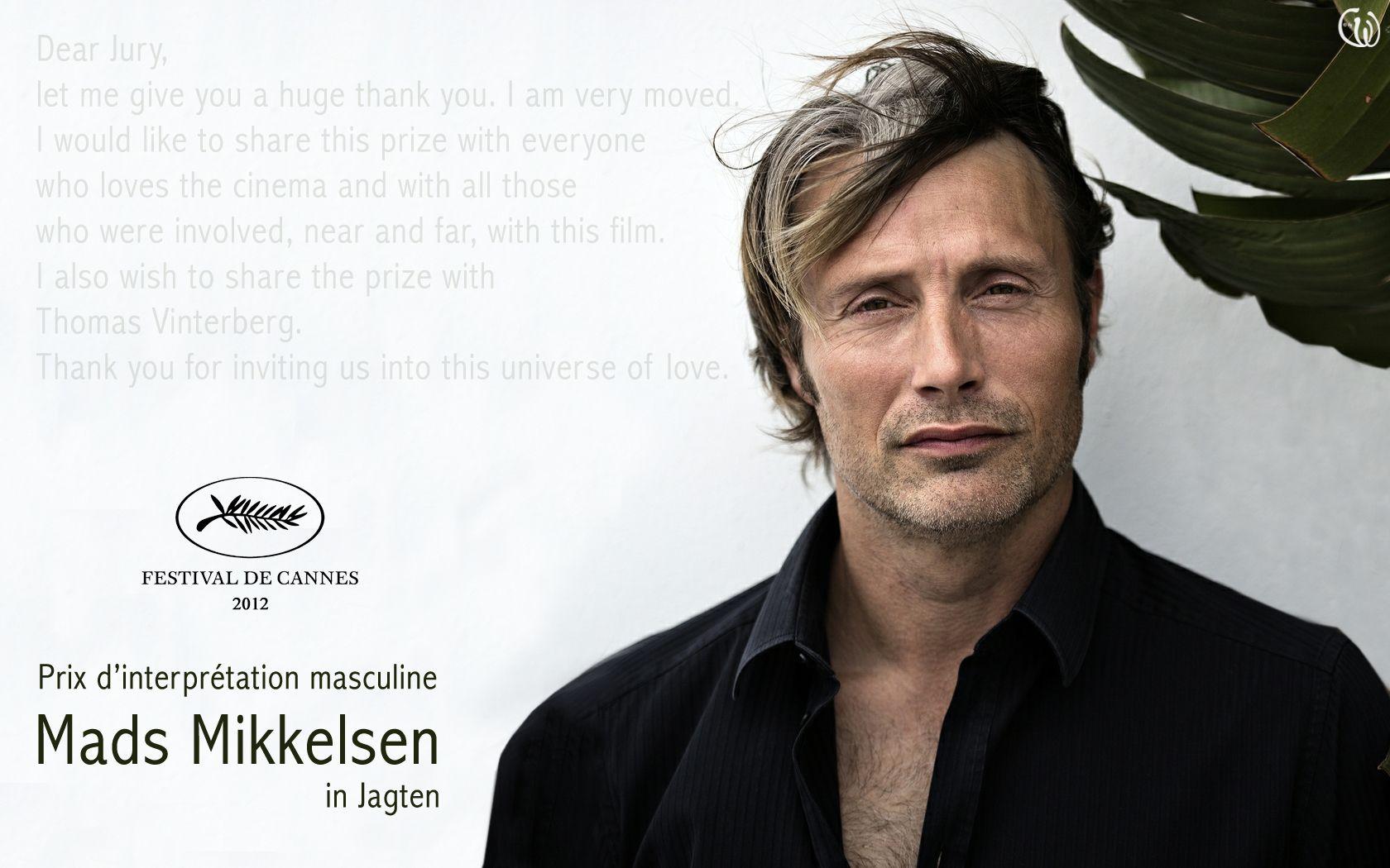 Mads Mikkelsen Wallpaper Mads Mikkelsen Winner In Cannes Mads Mikkelsen Cannes Best Actor