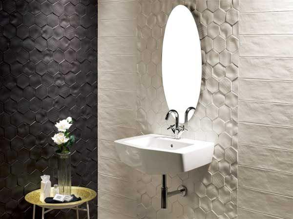 Recent Designnatucer Of Tile Of Spain   Bathrooms Stunning 3D Tiles For Bathroom Decorating Inspiration