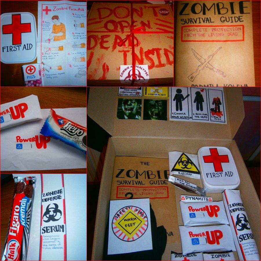 Zombie Apocalypse Survival Kit For My Boyfriend Apocalypse Survival Kit Zombie Apocalypse Survival Zombie