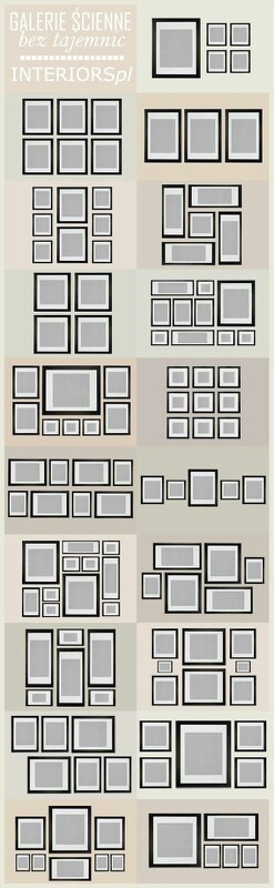 Gallery Wall Planner Use Paper Templates And Similar Frames To Save On Thine Headaches