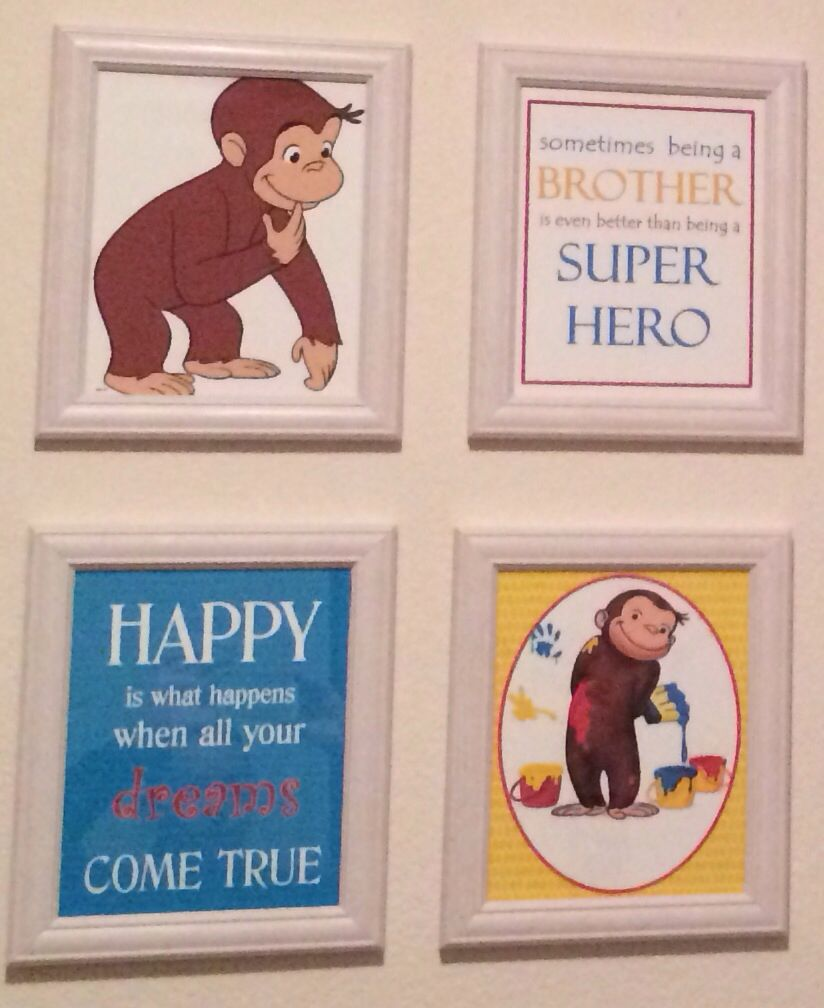 Curious George baby room | Curious george bedroom, Boys ...