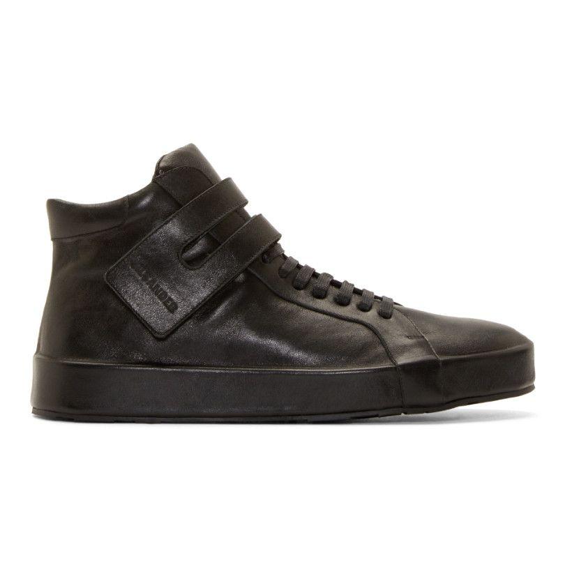 mid top sneakers - Black Jil Sander toICU