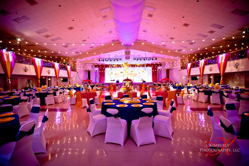lighting for an indian wedding reception in tampa florida lighting