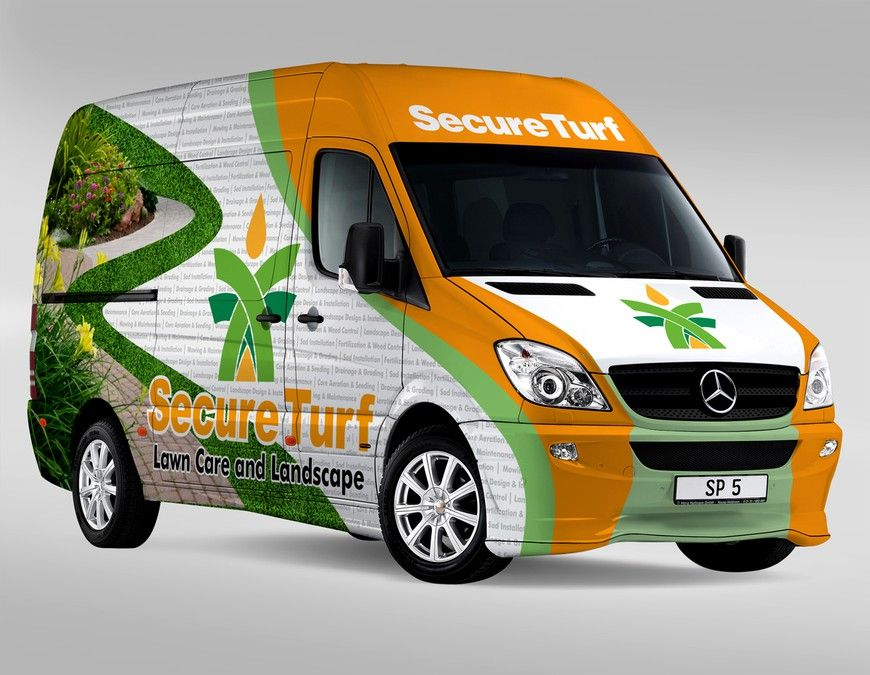 Wrap Our Mercedes Sprinter Fleet Innovative聽design For Lawn Care Landscape Wanted By Dopamads Mercedes Sprinter Sprinter Mercedes
