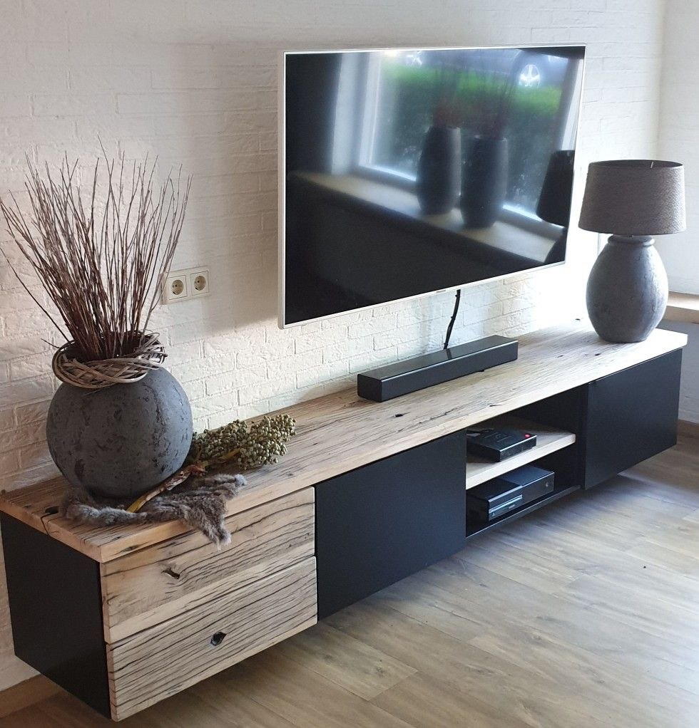 Tv Meubel Mat Zwart.Pin By Dalanie Sinden On Interior In 2020 Home Deco New Homes Home