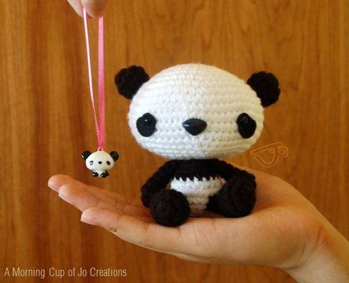 Amigurumi Panda Bear Crochet Pattern : Panda crochet pattern amigurumi morning cup of jo creations