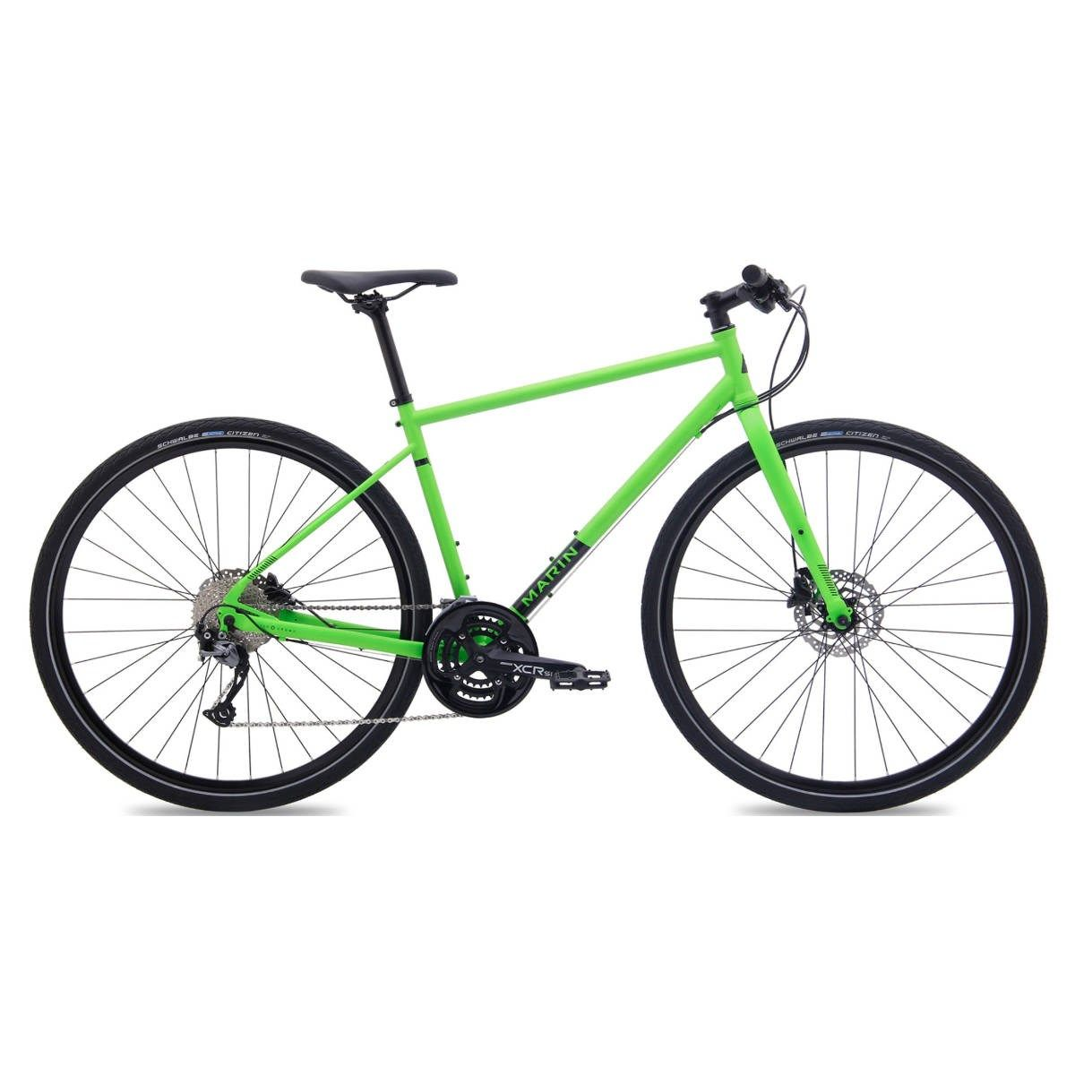Marin Muirwoods 2018 Hybrid Bike Green Hybrid Bike Bike Bike Gear