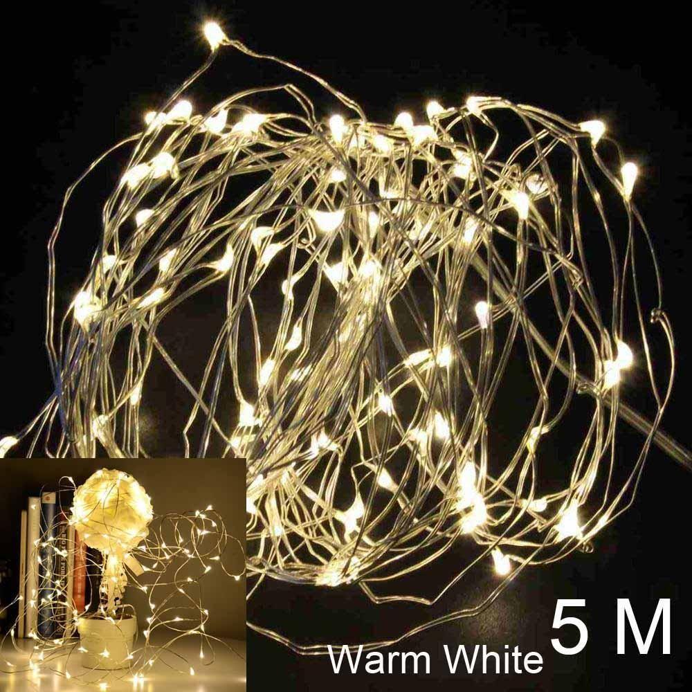Fairy light wedding decoration ideas  FENGRIS LED Lights Wedding Decoration Light Copper Wire String Fairy