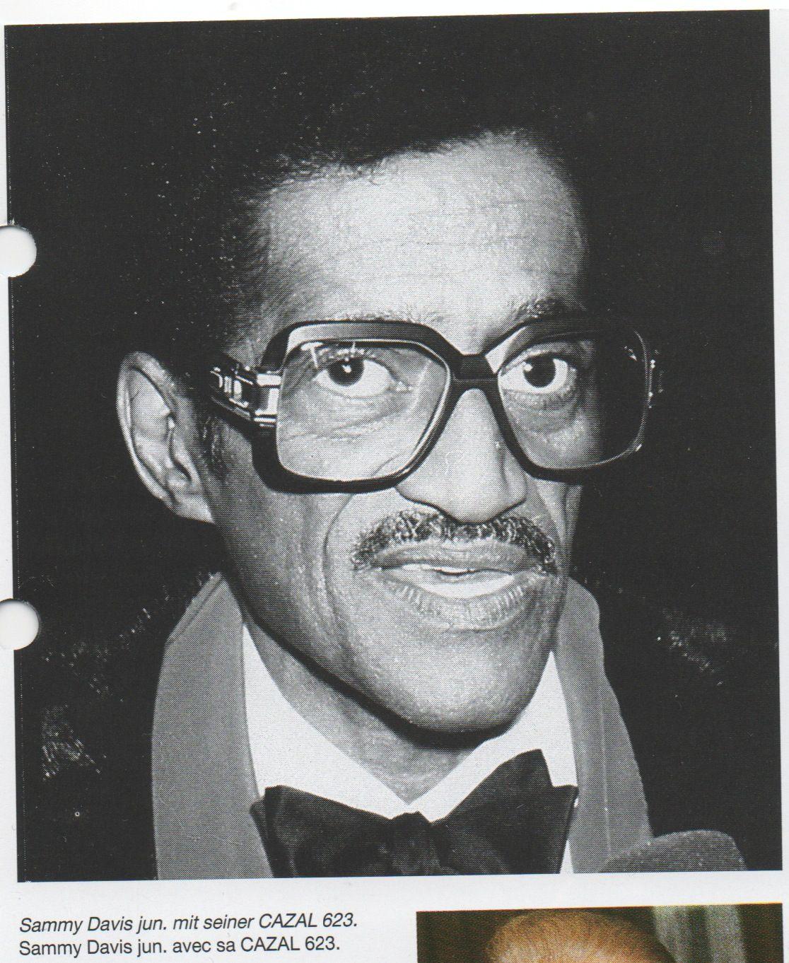 356149c00a Sammy Davis Jr in Cazal 623 Sammy Davis Jr