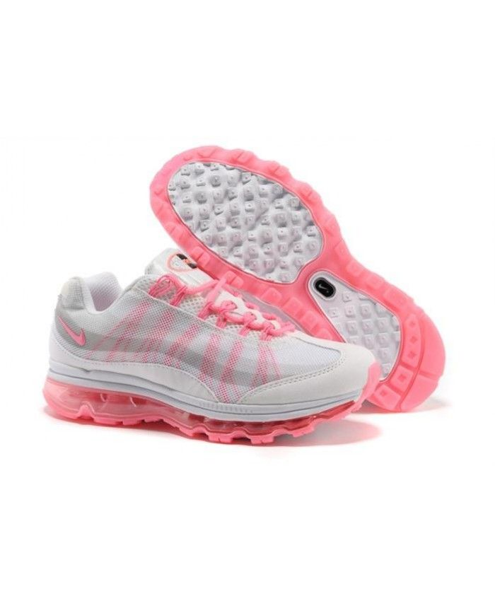 Nike Air Max 95 360 Womens Shoes White Pink
